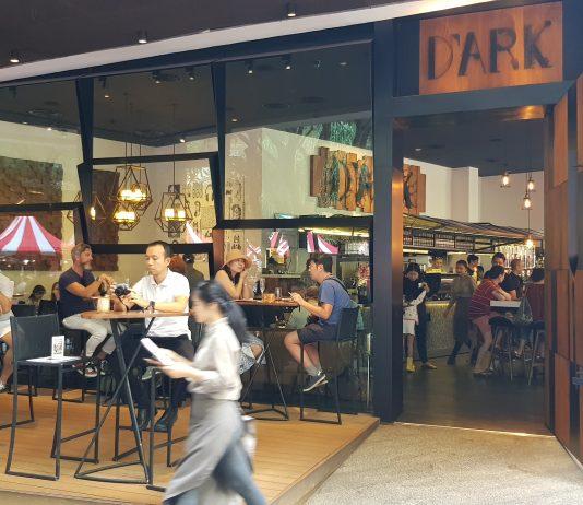 D'ARK - A loft-styled Cafe @ The EmQuartier