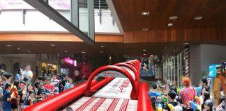 สไลด์เดอร์ยักษ์ใจกลางห้าง Siam Square One