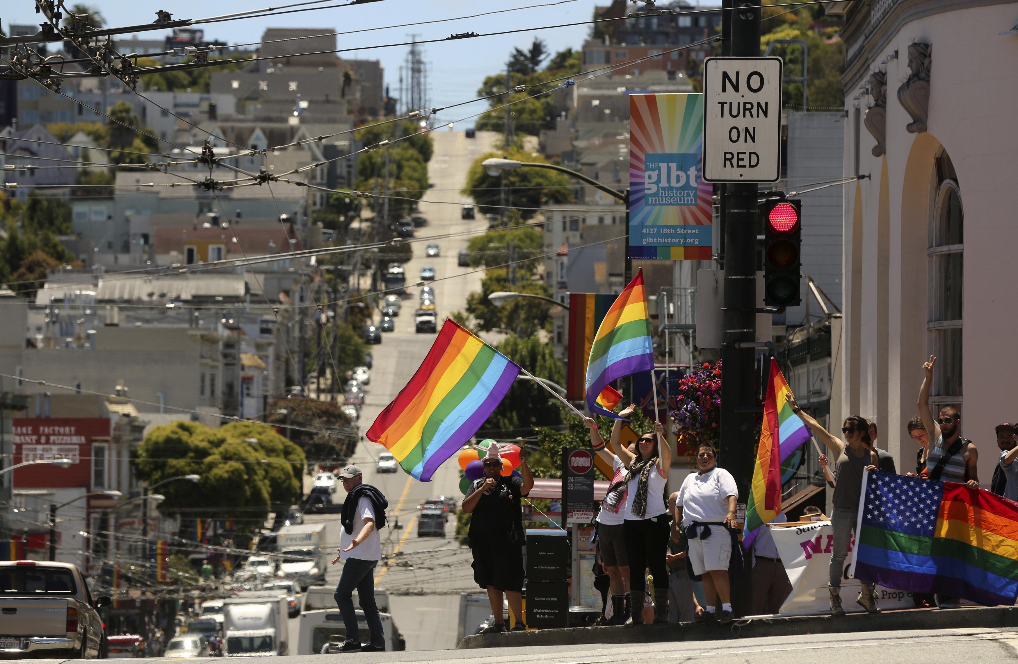Castro neighborhood in San Francisco