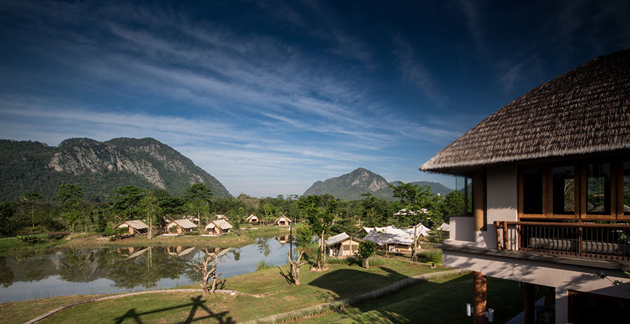 Lala Mukha, an exquisite tented villa surrounded by blissful mountain range