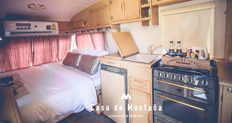 Caravan Guestroom (Cr. Photo by Casa de Montana)