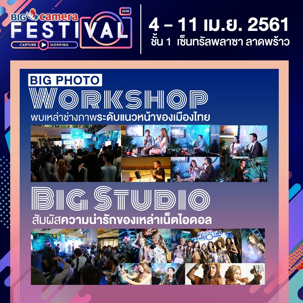 BIG CAMERA FESTIVAL 2018 Capture Hopping