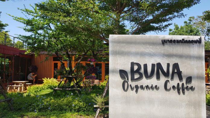"""""""Buna Organic Coffee"""" คาเฟ่ออร์กานิค ย่านสุขุมวิท 107"""