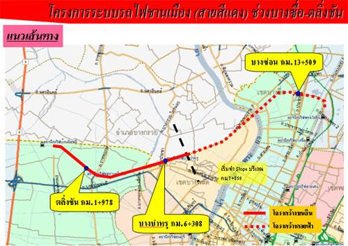 โครงการระบบรถไฟชานเมือง บางซื่อ-ตลิ่งชัน