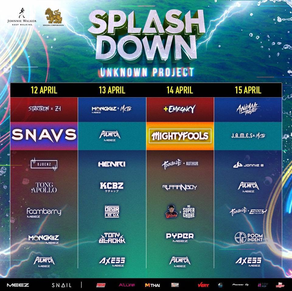 SPLASH DOWN SONGKRAN 2018
