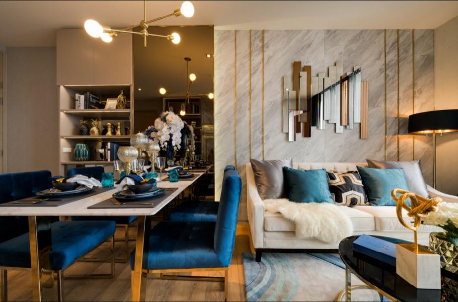 การออกแบบสไตล์ Luxurious Modern @ Park 24