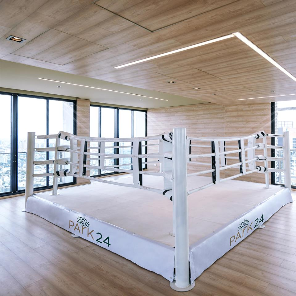 A Boxing Gym, a part of Active Floor on the 49th floor of Park 24