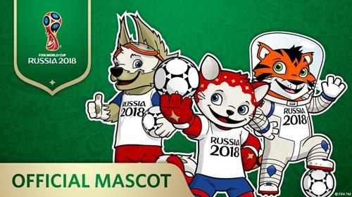 ซาบิวากา – Zabivaka มาสคอตบอลโลก 2018