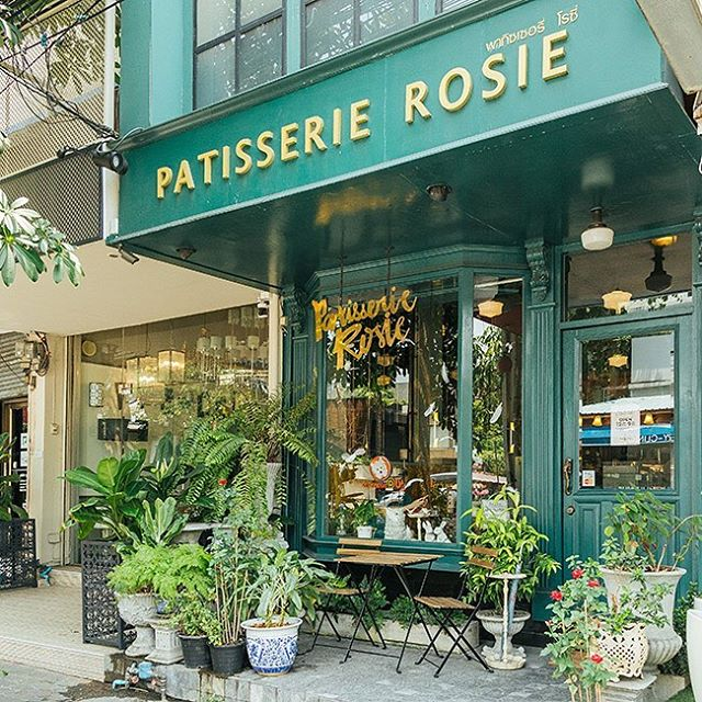 """Patisserie Rosie"" ร้านขนมหวานฝรั่งเศส ตกแต่งสไตล์วินเทจ @ ทองหล่อซอย 10 ตรงข้าม Arena 10 (Cr. Photo by Patisserie Rosie)"