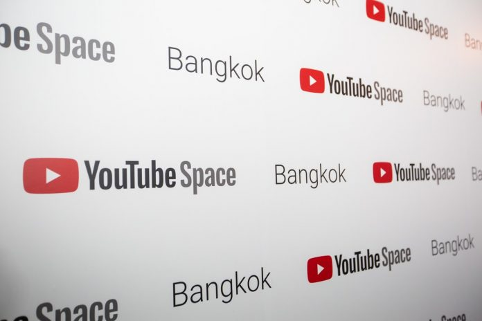 YouTube Pop-up Space Bangkok