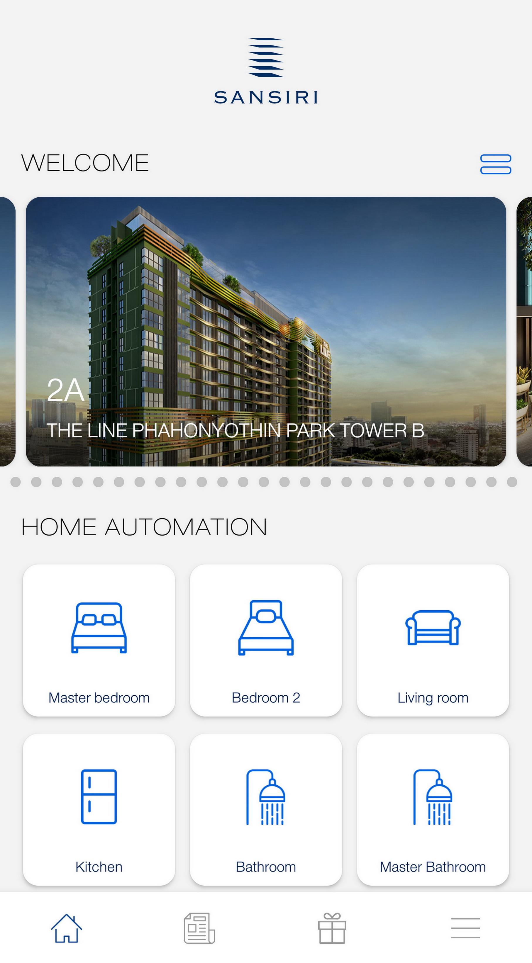 Sansiri Home Service Application