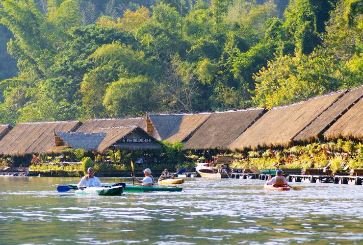 ริเวอร์แคว จังเกิล ราฟท์ (River Kwai Jungle Rafts)