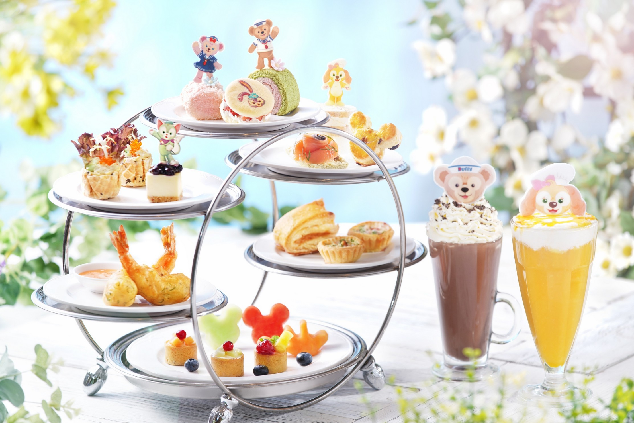 Duffy and Friends Afternoon Tea Set