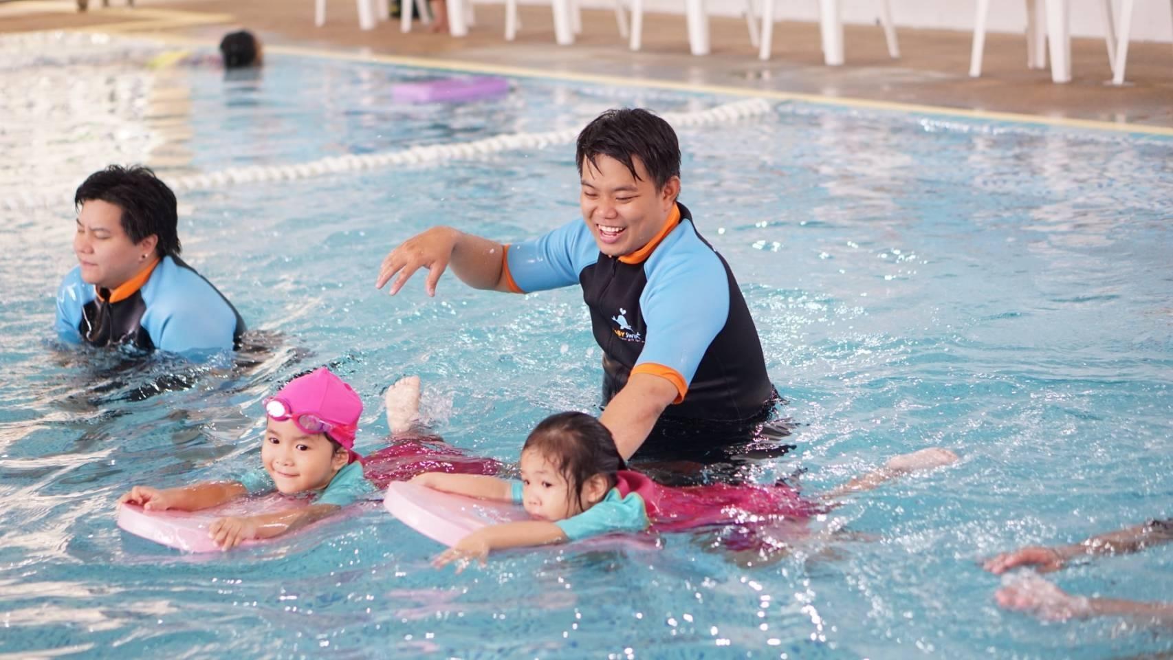 เรียนว่ายเด็กทารก ที่ไหนดี