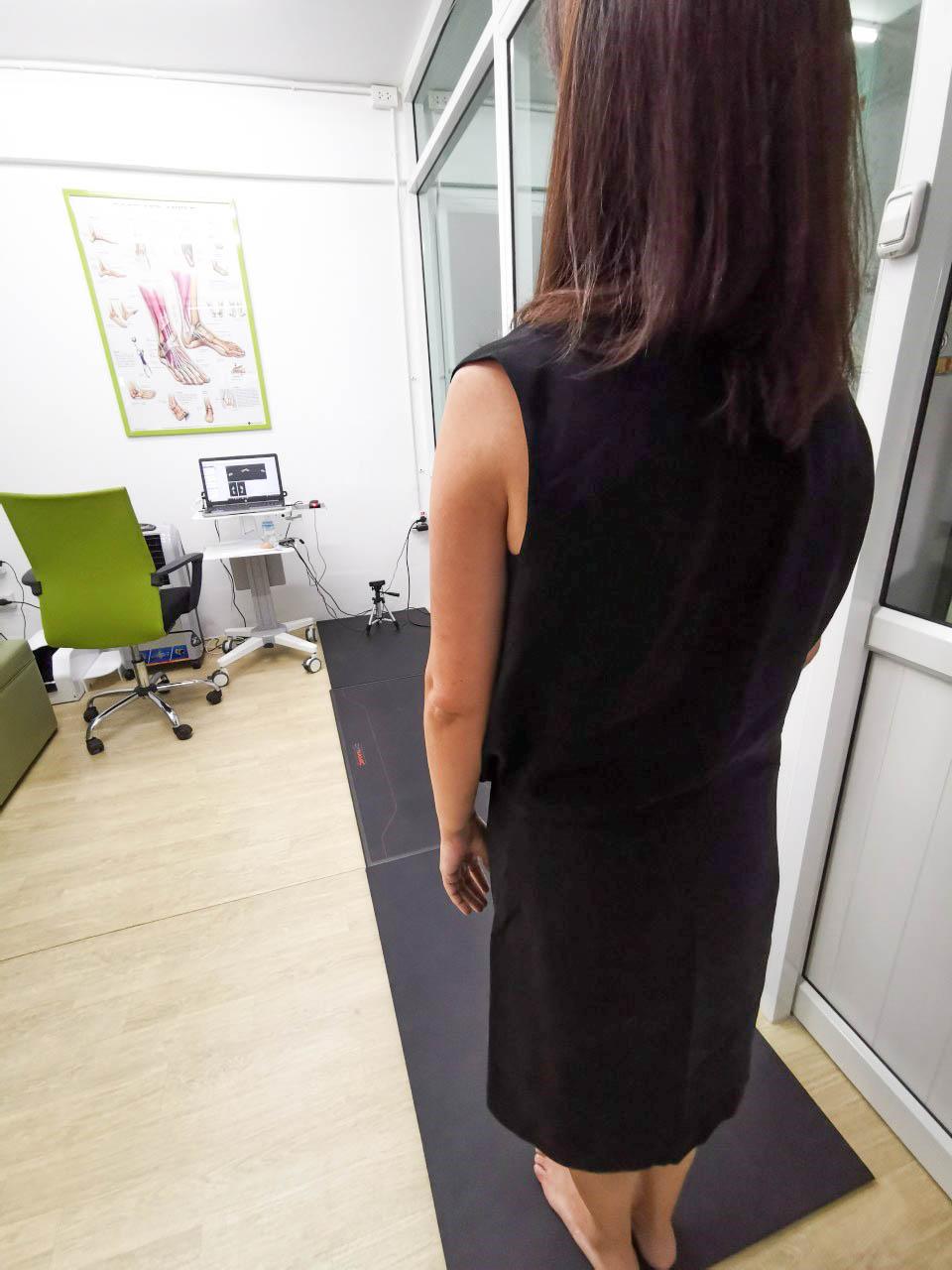 Foot Pressure Sensor in Motion