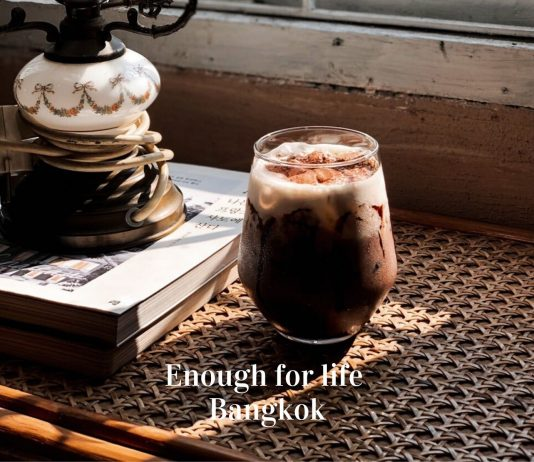 ร้านกาแฟ Enough for life Bangkok