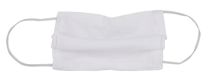 หน้ากากกันฝุ่น ชนิดผ้าขาว