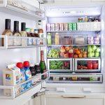 จัดเก็บตู้เย็น marie kondo