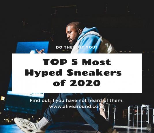 TOP 5 สนีกเกอร์สุด Lit 🔥 ปี 2020