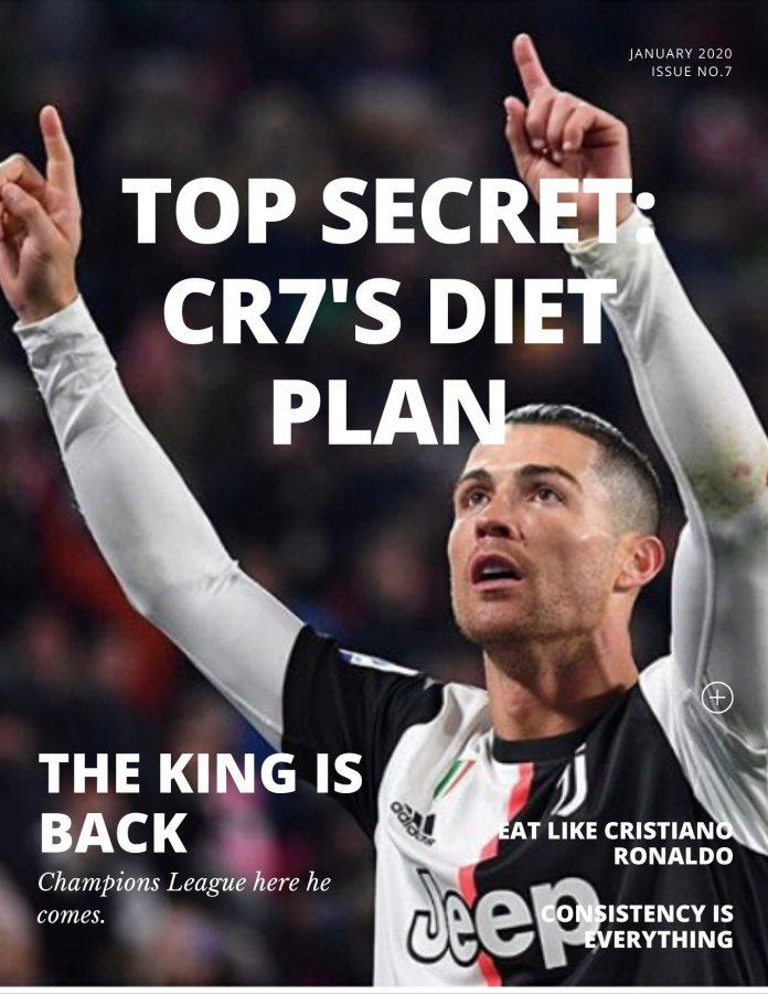Top Secret: การกินเเละโภชนาอาหารของ คริสเตียโน่ โรนัลโด้