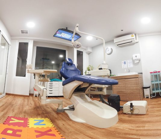 ห้องทำฟันเด็ก ใหม่ สะอาด ทันสมัย