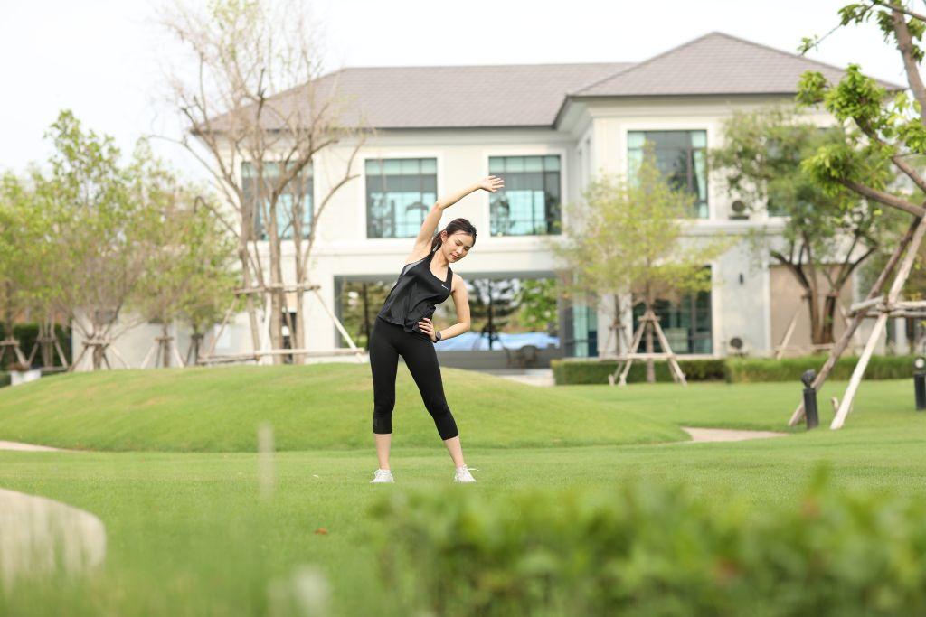 Smart Outdoor Gym พื้นที่สวนขนาดใหญ่ ให้คุณได้ออกกำลังกาย สูดความสดชื่นได้อย่างเต็มปอด