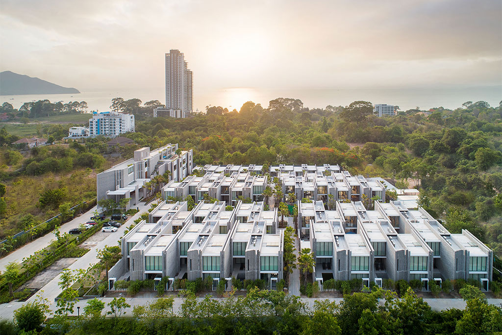 """X2 Pattaya Oceanphere สถาปัตยกรรมที่ได้แนวคิดมาจาก """"ระเบียงต้นข้าว"""""""