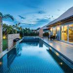 The Ville Jomtien Pool Villa บ้านพักตากอากาศสไตล์โมเดิร์น พร้อมสระว่ายน้ำส่วนตัว